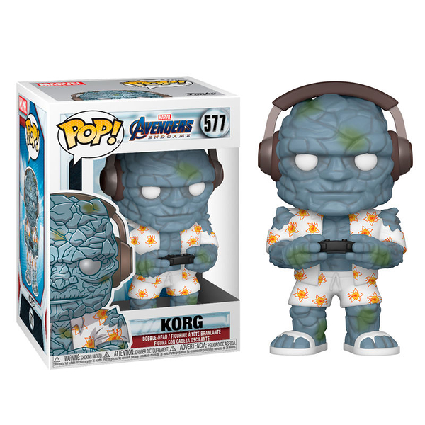 【 Funko 】 POP! 漫威:復仇者聯盟 - 終局之戰 石頭人寇格╭★ JOYBUS玩具百貨
