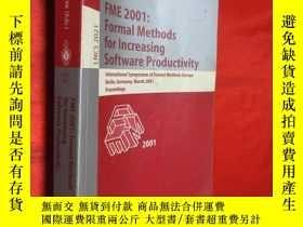 二手書博民逛書店FME罕見2001:Formal Methods for Inc