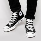 Converse Chuck Taylor All Star 黑 男鞋 女鞋 高筒 百搭 帆布鞋 休閒鞋 情侶鞋 基本款 經典款 M9160C