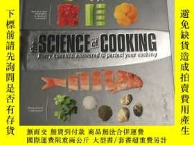 二手書博民逛書店the罕見science of cooking Every Question Answered To Perfec