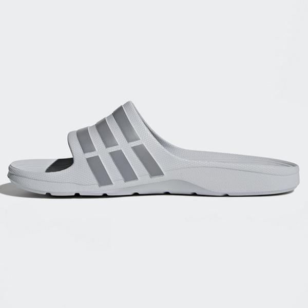 【現貨】Adidas Duramo Slide 男鞋 女鞋 拖鞋 防水 海灘 一體成形 灰【運動世界】 B44298