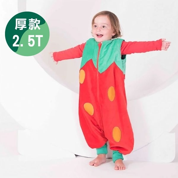 西班牙 The PenguinBag Company 防踢被-草莓(1-3Y)厚款