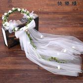 花朵頭飾頭紗