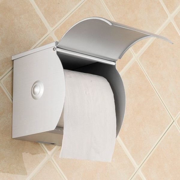 小熊居家衛生間紙巾盒 廁所紙巾盒 衛生紙盒 紙巾簍 帶煙灰缸特價