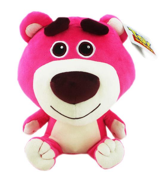 【卡漫城】 熊抱哥 23cm Q版 ㊣版 布偶 玩偶 Lotso 玩具總動員 絨毛 娃娃 Toy Story