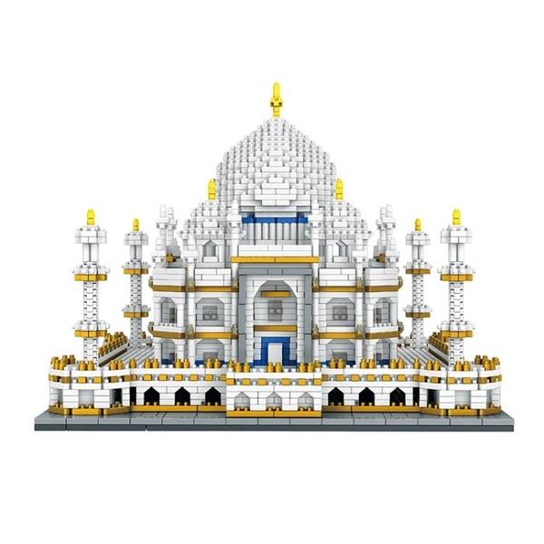 小積木成人世界著名建筑兼容樂高益智玩具【聚寶屋】