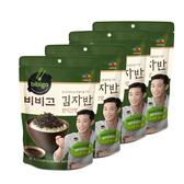 【超值團購CJ 】bibigo韓式醬油海苔酥50gX4入~親子必備美食小幫手