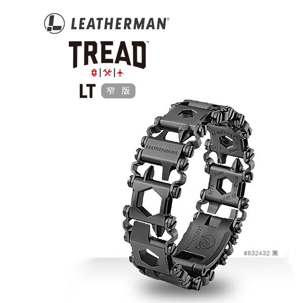 [Leatherman] TREAD LT 工具手鍊-窄版 黑色 (LE832432) 秀山莊戶外用品旗艦店