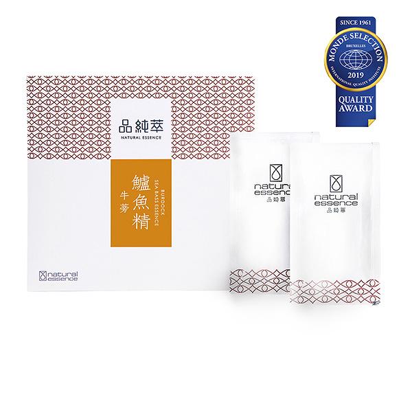 品純萃.牛蒡鱸魚精(10入/盒)-贈牛蒡鱸魚精1包﹍愛食網