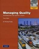 二手書博民逛書店 《Managing Quality: Integrating the Supply Chain》 R2Y ISBN:0135078199│Pearson Education