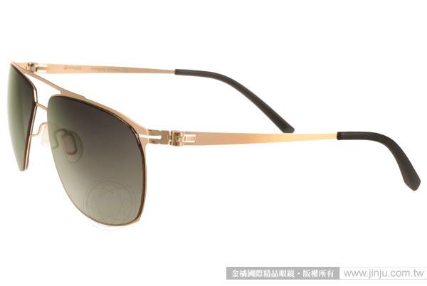 VYCOZ 太陽眼鏡 TEELER GOL-GOLD (金) 薄鋼工藝 個性經典款 # 金橘眼鏡