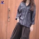 【春夏單一價】American Bluedeer - 垂墜V領襯衫(特價) 春夏新款