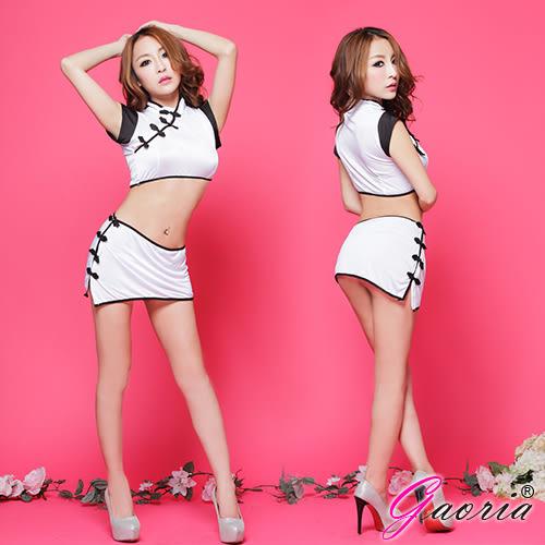 情趣睡衣 性感內衣 Gaoria 風華上海灘 複古盤扣分體旗袍 角色扮演 制服 情趣睡衣角色服 N3-0047