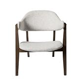 米莉亞單椅 米白 64x80x72.5cm