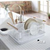 餐具架瀝水架日式鐵藝碗架瀝水架廚房置物架餐具瀝水架收納盤XW