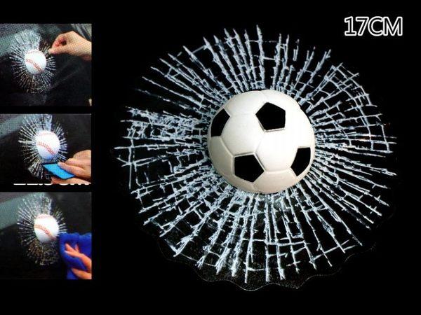 【洪氏雜貨】 239A011-6 3D球貼 爆裂款 足球單入