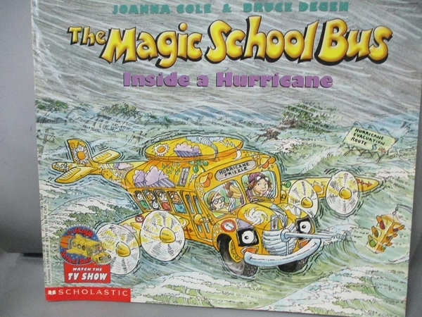 【書寶二手書T1/少年童書_PIT】Magic School Bus Inside a Hurricane_COLE, JOANNA