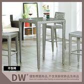 【多瓦娜】19046-246005 B189玻璃吧台桌