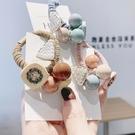 頭飾 2020髮圈頭繩韓國小清新馬尾簡約新款扎頭髮橡皮筋個性髮繩女頭飾