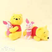 【日貨SEGA娃娃18cm小熊維尼&小豬】Norns 日本進口玩偶 迪士尼景品公仔