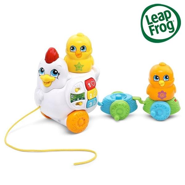 LeapFrog 跳跳蛙 Learn & Roll Chickens 滾滾雞學習車[衛立兒生活館]
