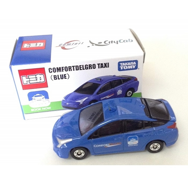 TOMICA多美特別版小汽車 亞洲限定 新加坡TAXI (藍) TM97458