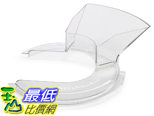 [106美國直購] KitchenAid KSM35PS 攪拌機配件 防潑罩 1 Piece Pouring Shield 適用KSM3311/KSM3316