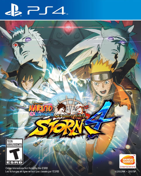 PS4 Naruto Shippuden Ultimate Ninja Storm 4 火影忍者 疾風傳:終極風暴 4(美版代購)