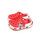 Crocs x Disney 米妮 涼鞋 前包後空 防水 紅色 小童 童鞋 206308-8C1 no029
