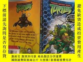 二手書博民逛書店teenage罕見mutant ninja turtles secret of the sewer 青少年變種忍者