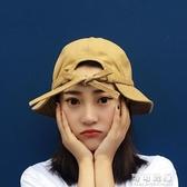 韓國蝴蝶結鴨舌漁夫帽夏天休閒百搭日繫學生遮陽防曬太陽帽子女夏 交換禮物