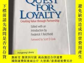 二手書博民逛書店The罕見Quest for Loyalty: Creating