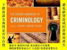 二手書博民逛書店The罕見Oxford Handbook Of Criminol