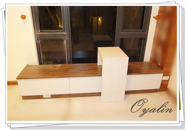 【歐雅系統家具】上掀窗邊櫃