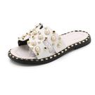 女童涼拖鞋夏季時尚兒童防滑珍珠小公主涼拖
