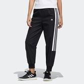 Adidas STR PT CARGO 女裝 長褲 休閒 鬆緊 拉鍊口袋 LOGO小標 黑【運動世界】GP0606