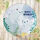 【冰箱貼】白海豚  #  白板貼 冰箱貼 OA屏風貼 置物櫃貼 5.8cm x 5.8cm