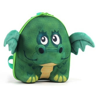 愛瑪星球 德國okiedog 兒童3D動物造型後背包-龍