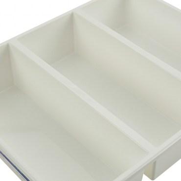 KEYWAY Nico Bin 你可3格收納盒 TLR-103 29x23.8x6.3cm