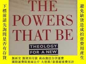 二手書博民逛書店英文原版罕見The powers that be Theolog