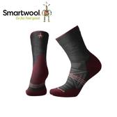【美國 SmartWool 女Phd戶外輕量避震中筒襪 《炭黑》】SW001309/保暖/戶外/運動襪
