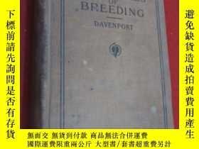 二手書博民逛書店zrinciples罕見of breeding davenport 精裝本 作者簽名 共727頁Y15969
