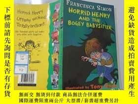 二手書博民逛書店Horrid罕見HenryAnd The Bogey Babysitter:可怕的亨利和可怕的保姆Y20039