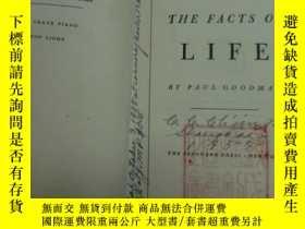 二手書博民逛書店英文罕見THE FACTS OF LIFE BY PAUL GO