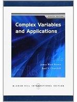 二手書博民逛書店 《Complex Variables and Applications》 R2Y ISBN:0071263284