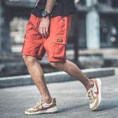 短褲 男士短褲五分褲夏天休閒迷彩褲子沙灘褲夏季寬鬆多口袋工裝褲男潮 瑪麗蘇精品鞋包