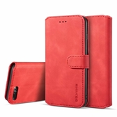 iPhone 7 Plus 全包商務復古皮套 翻蓋手機殼 磁扣皮套 錢包款 插卡防摔保護套 支架保護殼 附掛繩 i7