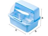 裝碗筷收納盒放碗箱瀝水碗架廚房家用帶蓋碗盆碗碟置物架YYJ(快速出貨)
