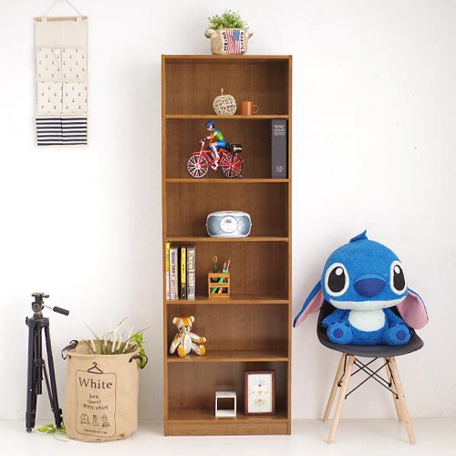 書櫃 書架 台灣製收納櫃 小田原六格書櫃 置物櫃 書櫥 展示架櫃子《YV8624》快樂生活網