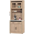 櫥櫃 餐櫃 HE-394-6 原切2.7尺石面餐櫃【大眾家居舘】
